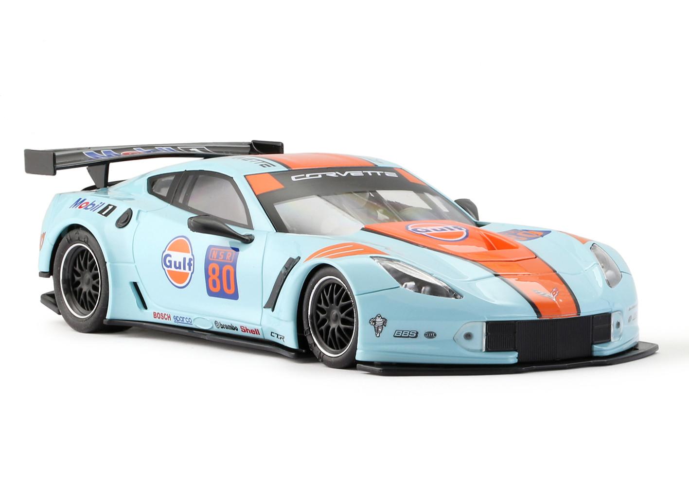 NSR - Corvette C7R #80, Gulf Edition - Chassi Verde: 0068AWG