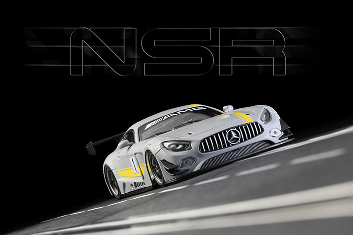 NSR - Mercedes AMG, Test Car Grey: 0097AW
