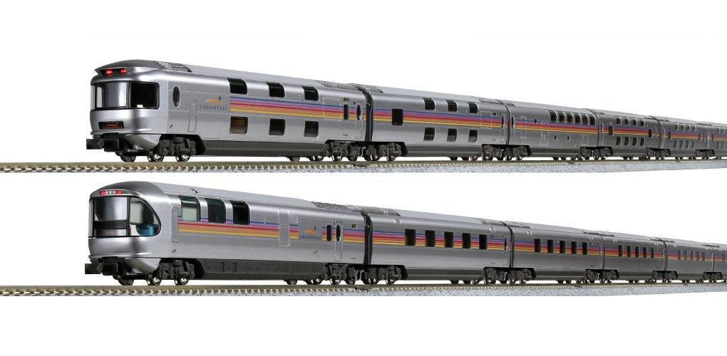 """Kato N - Série E26 """"Cassiopeia"""", 12 Car Set: 10-1608 / 1609"""
