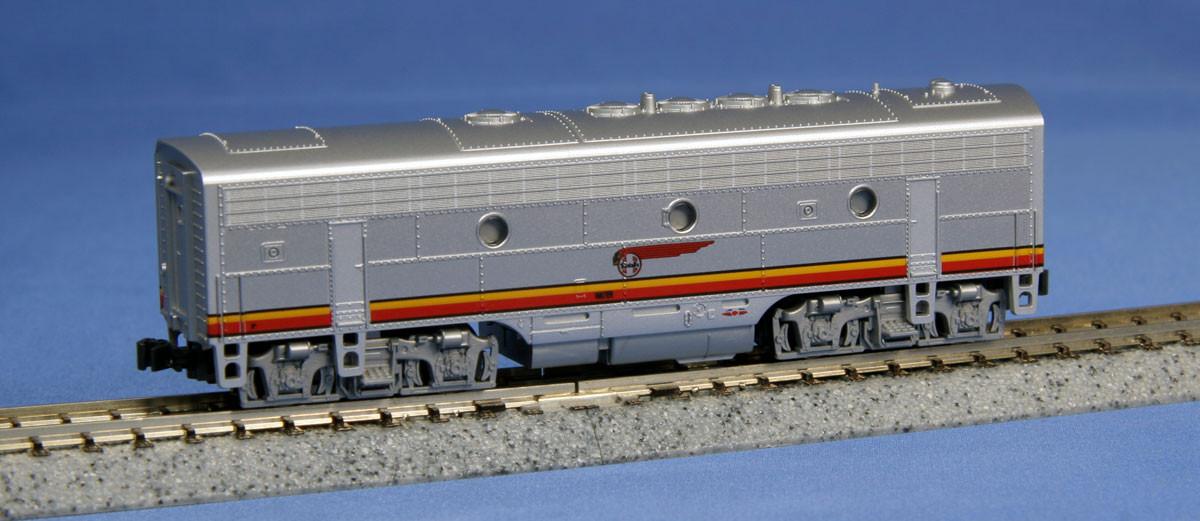 Kato N - Locomotiva F7B, Santa Fe Warbonnet: 176-2211