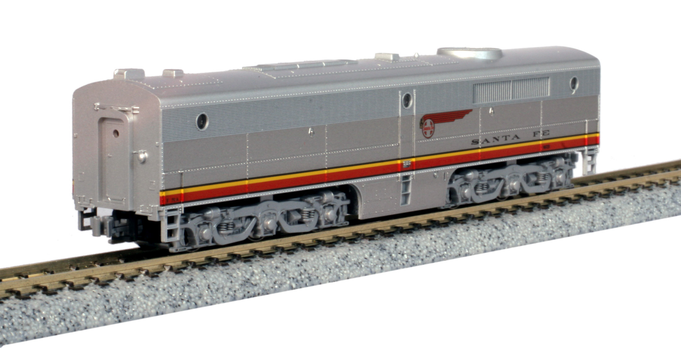 Kato N - Locomotiva ALCO PB-1, AT SF Warbonnet #70A: 176-4122