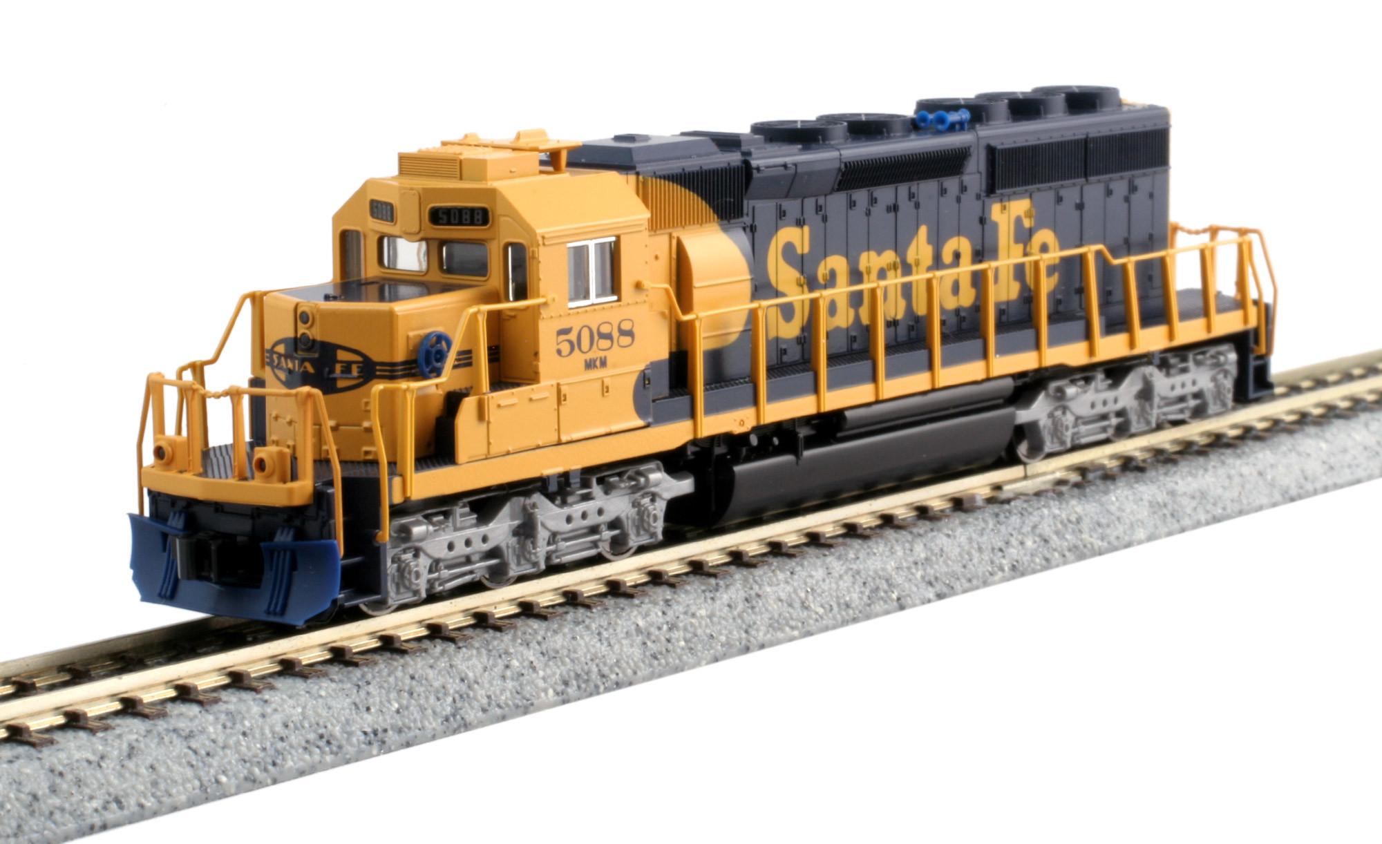 Kato N - Locomotiva SD40-2 Santa Fe #5088: 176-8210