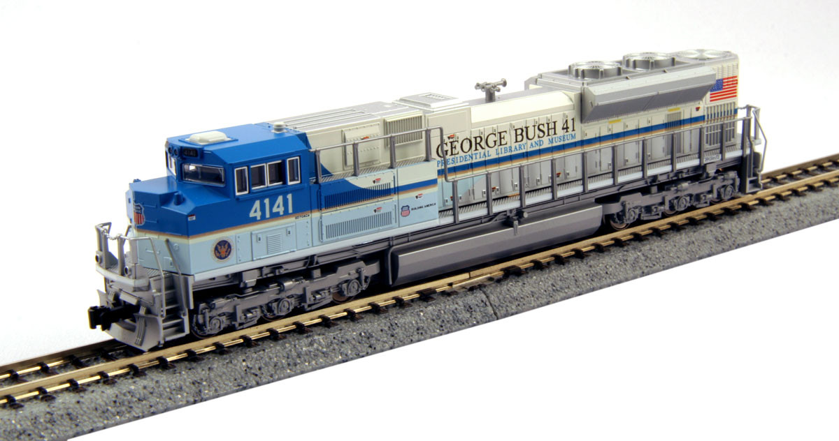 "Kato N - Locomotiva SD70ACe UP ""George Bush"" #4141: 176-8411"