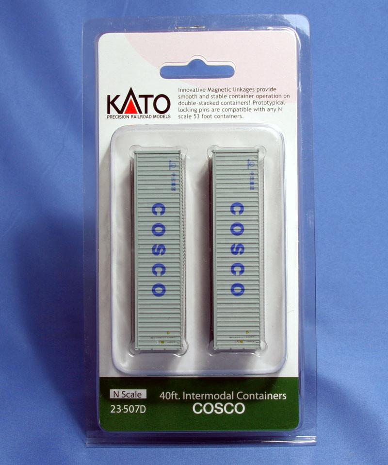 Kato N - Contêineres - COSCO 40': 23-507D