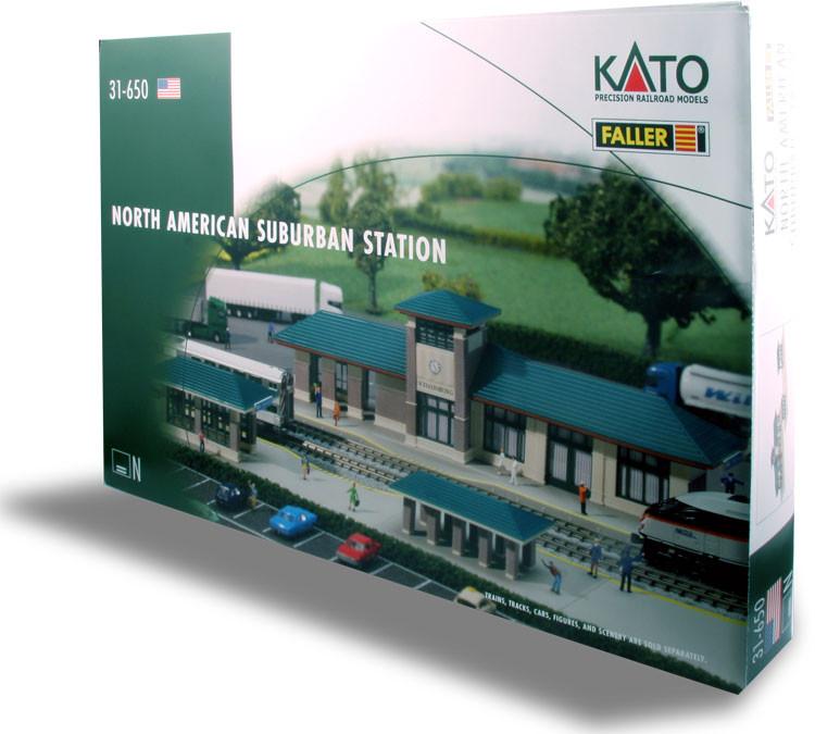 Kato N - Estação de Subúrbio padrão USA: 31-650
