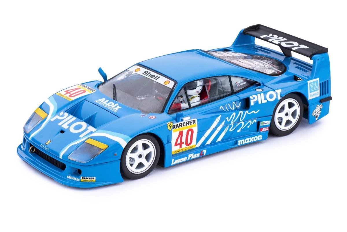 Policar - Ferrari F40 #40 Pilot - 4h Silverstone 1995: CAR03c