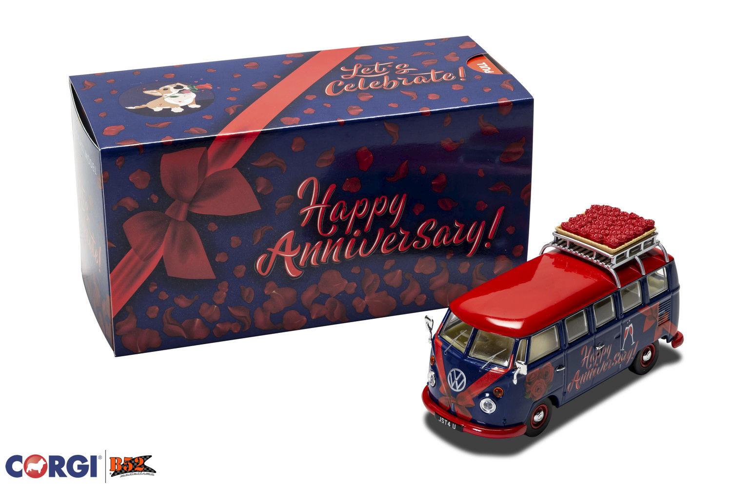 Corgi - VW Kombi, Aniversário de Casamento: CC02735