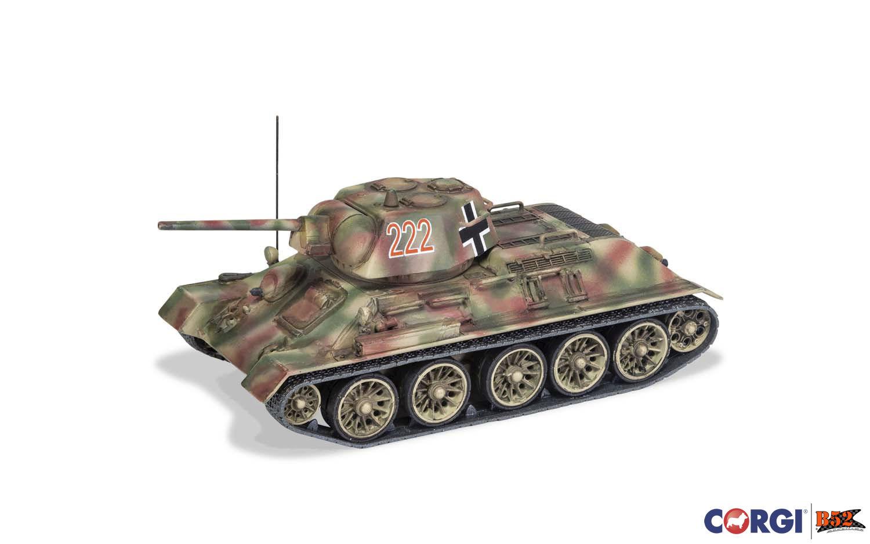 Corgi - Beutepanzer (Trophy Tank) T34/76, Ucrânia 1943: CC51606