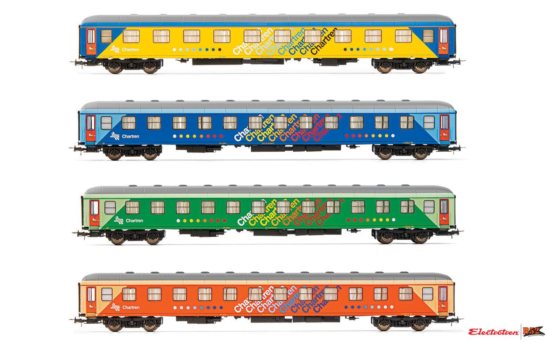 """Electroten HO - Carros de Passageiros """"Chartren"""", RENFE: E18043"""