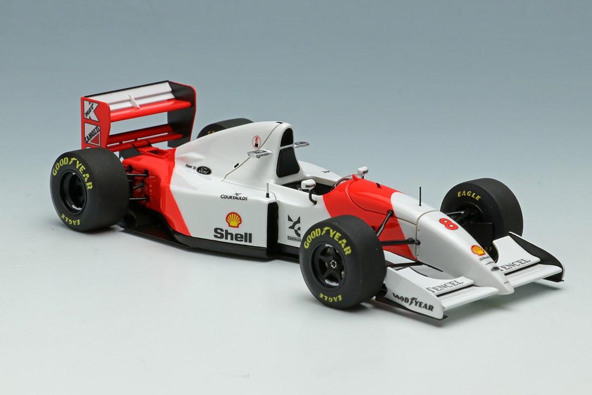 Eidolon Make UP 1:43 - McLaren Ford MP4/8 - Senna #8: Australian GP 1993: FE033A