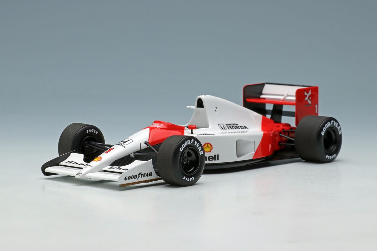 Eidolon Make UP 1:43 - McLaren Honda MP4/6 - Senna #1: USA GP 1991