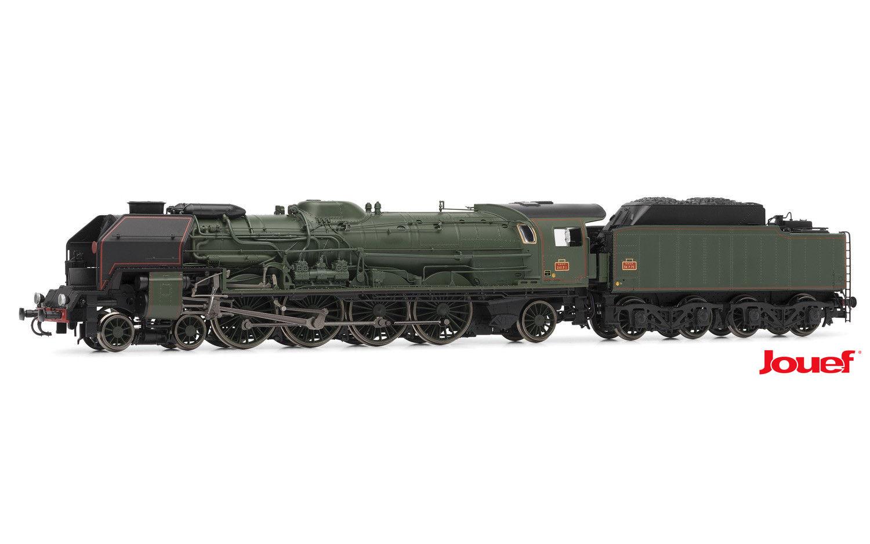 Jouef HO - Locomotiva Vapor 241 P 1, tender 34 P 75: SNCF - HJ2344