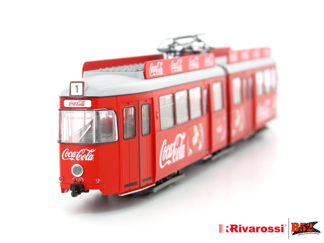 "Rivarossi HO - VLT Coca-Cola® ""Natal"" (Tram ""Christmas""): HR2755"