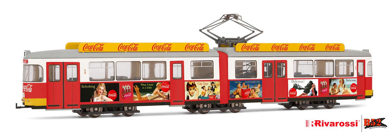 Rivarossi HO - VLT Coca-Cola® Verão (Summer Tram): HR2756