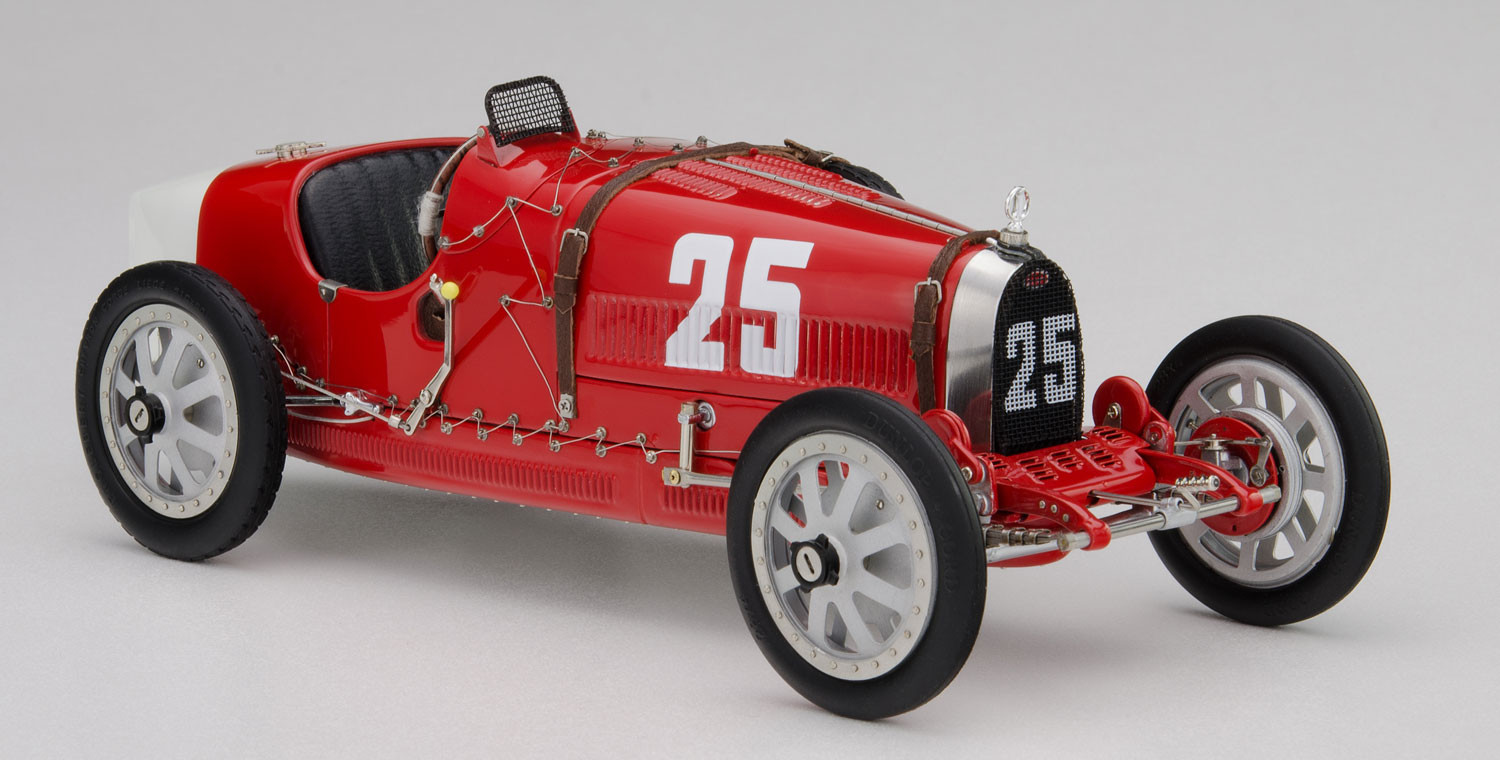 CMC - Bugatti Type 35 #25, Grand Prix - Portugal: M-100-009