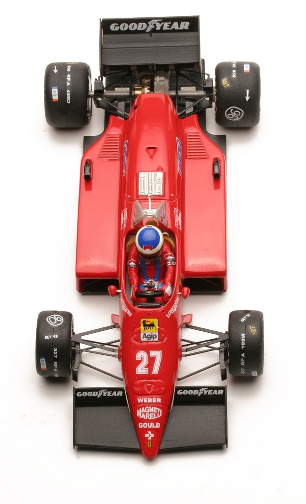 Ostorero - Ferrari 156-85, GP do Canadá 1985 - ODG190