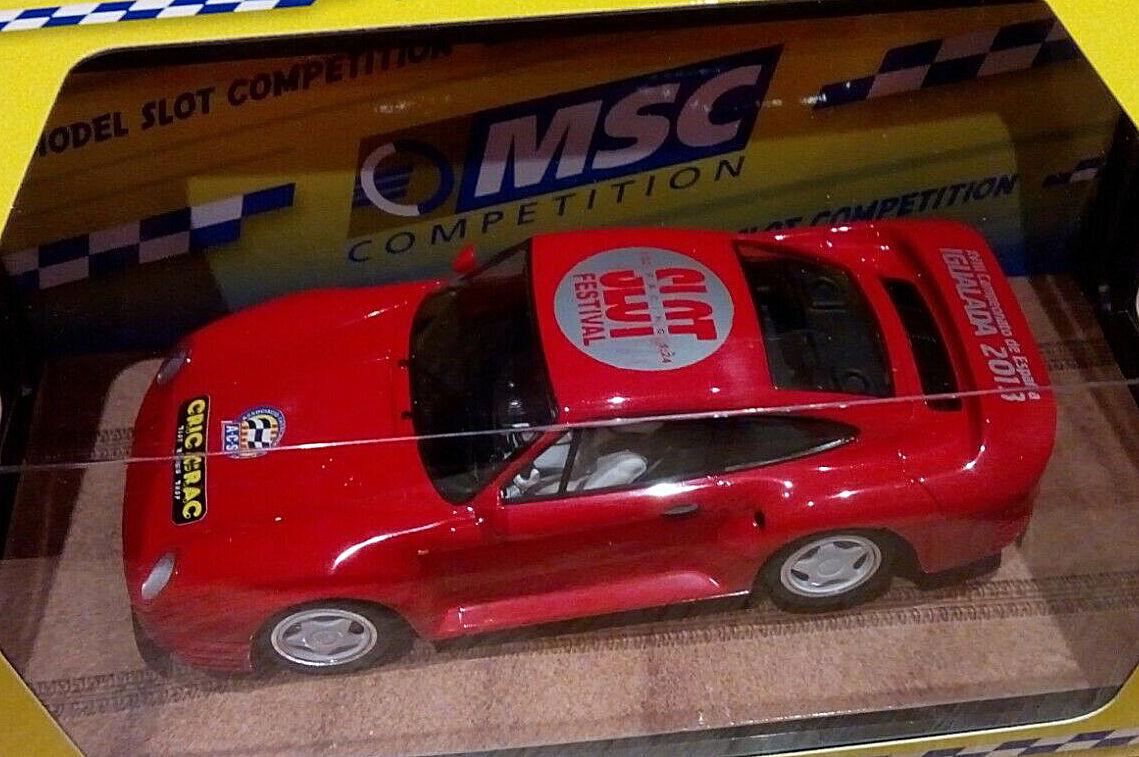 Scaleauto IBB - Porsche 959 Street Car, Montecarlo Chassis: MSC-6019