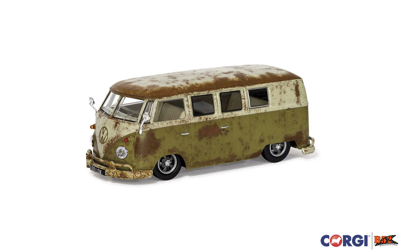 "Corgi - VW Kombi, Type 2 Camper ""RAT-Look"": VA14501"