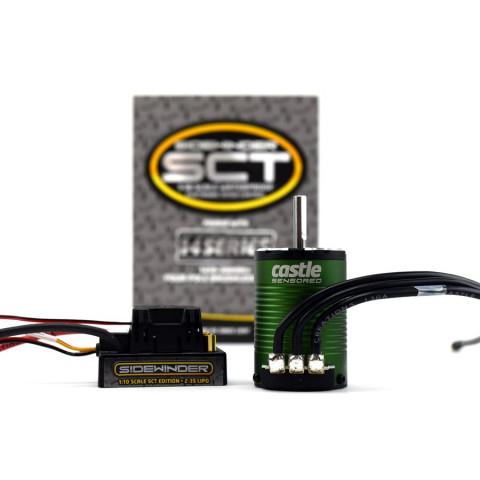 Castle - SIDEWINDER SCT c/ Motor 1410-3800Kv - 5mm: 010-0123-03