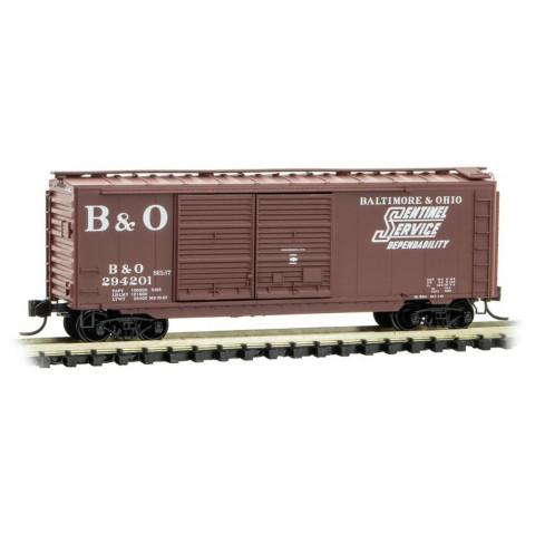 Micro-Trains N - Vagão Fechado de 40' (Box Car) BO: 023 00 410