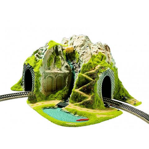 Noch - Túnel em Curva, Pista Simples - Escala HO: 05170