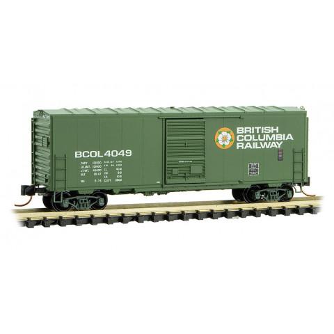 Micro-Trains N - Vagão Fechado de 40' (Box Car) BCOL: 073 00 510