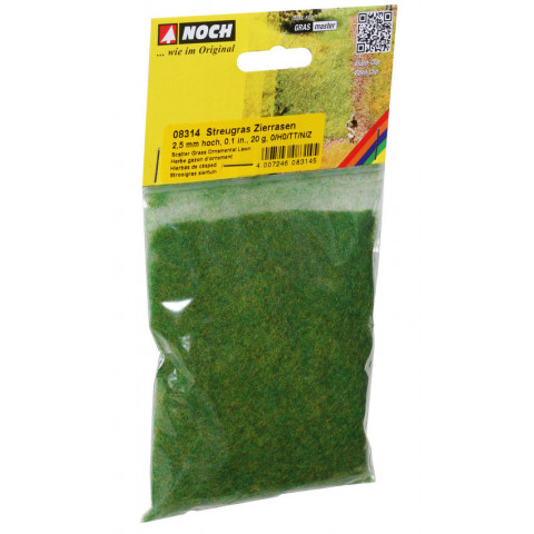 Noch - Grama para Flocagem, Ornamental Lawn 2,5mm: 08314