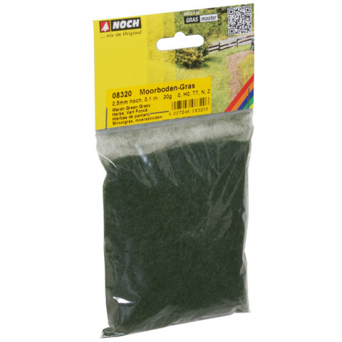 Noch - Grama para Flocagem, Marsh Soil 2,5mm: 08320