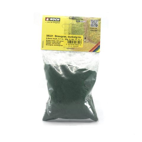 Noch - Grama para Flocagem, Verde Escuro 2,5mm: 08321