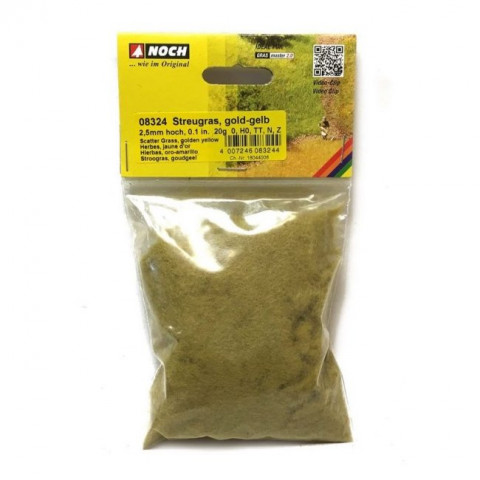 Noch - Grama para Flocagem, Dourado 2,5mm: 08324