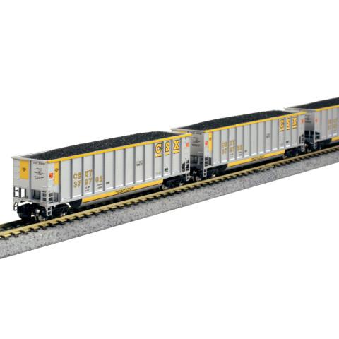 "Kato N - ""Bethgon Coalporter"" CSX, 8 Car Set: 106-4627"