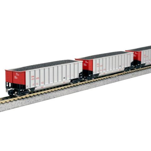 "Kato N - ""Bethgon Coalporter"" Canadian National, 8 Car Set: 106-4629"