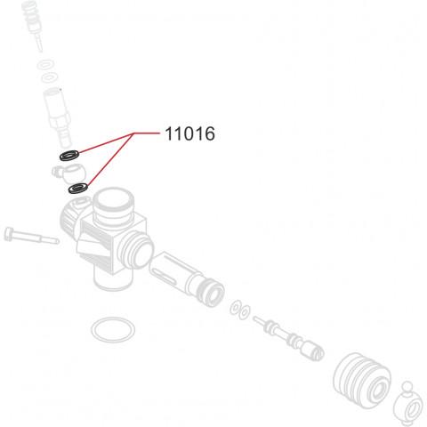 Novarossi - Anel de vedação para Carburador, em Alumínio: NV-11016