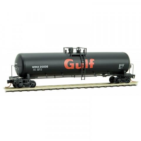 Micro-Trains N - Vagão Tanque WRNX 56ft, Gulf Oil: 110 00 331