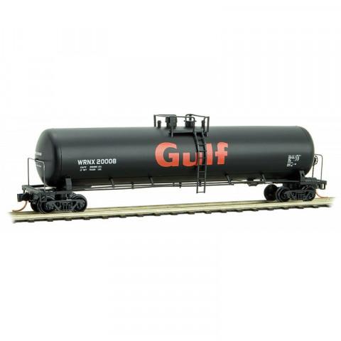 Micro-Trains N - Vagão Tanque WRNX 56ft, Gulf Oil: 110 00 332