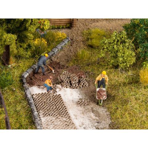 Noch - Pavimento para Jardins (Lawn Stones) - Escala HO: 14227