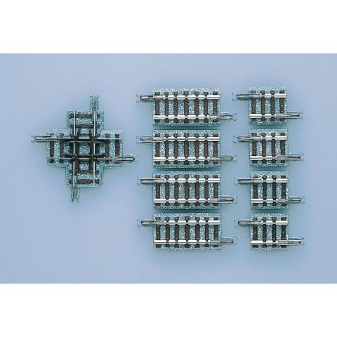 TOMIX - Trilho Cruzamento 90° X37-90: 1324