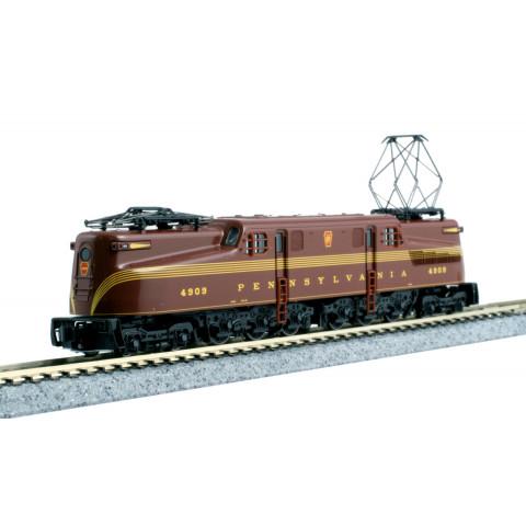 Kato N - Locomotiva GG1 PRR Tuscan Red 5-Stripe #4909: 137-2006