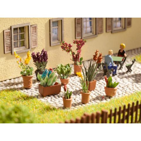 Noch - Plantas Ornamentais em Vasos - Escala HO: 14012