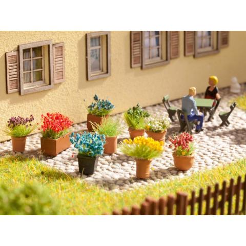 Noch - Flores em Vasos - Escala HO: 14031