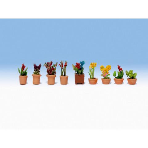 Noch - Plantas Ornamentais em Vasos - Escala N: 14080