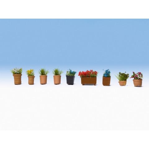 Noch - Flores em Vasos - Escala N: 14084