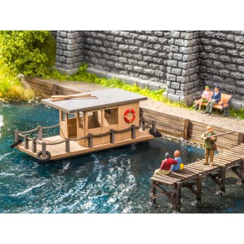 Noch - Casa Flutuante (House Boat) - Escala HO: 14224
