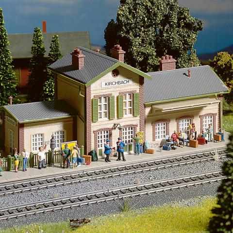 Noch - Acessórios para Estação (Train Station) - Escala HO: 14810