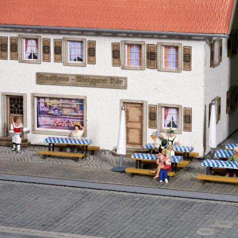 Noch - Mesas para Cervejaria (Beer Garden Accessories) - Escala HO: 14817