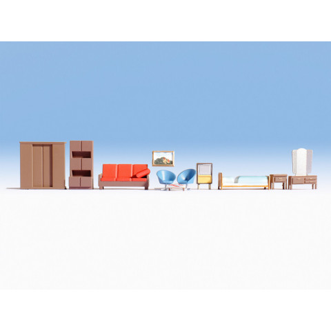 Noch - Móveis (Furnitures) - Escala HO: 14832