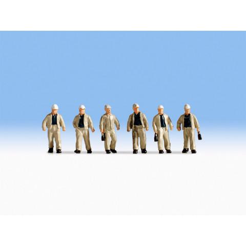 Noch - Mineiros (Miners) - Escala HO: 15042