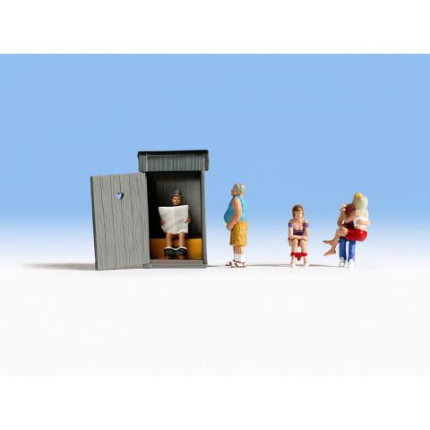 Noch - Histórias de WC (Toilet Stories) - Escala HO: 15560