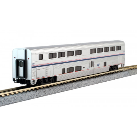 Kato N - Superliner II Transition Sleeper Amtrak #39041: 156-0957