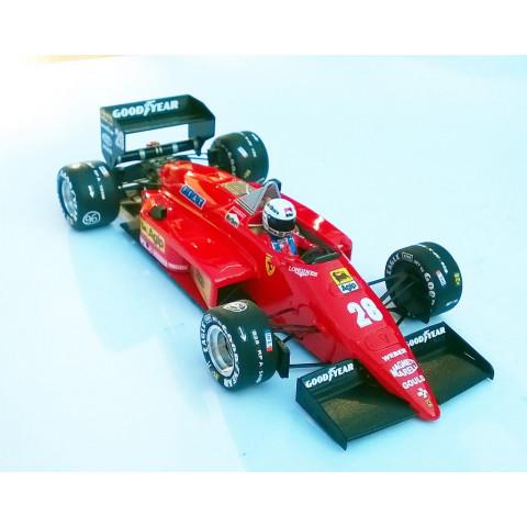 Ostorero - Ferrari 156-85, GP do Brasil 1985 - ODG191